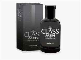 Ac Class Edc Men By Gray 100 Ml New