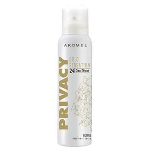 Privacy Deodorant 150 Ml Gold Women